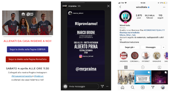 Boom degli Instagram Live