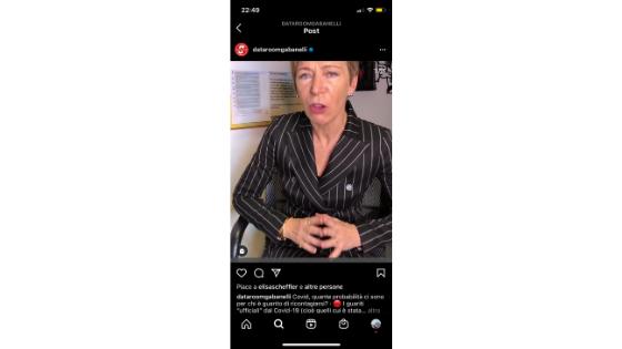 Fare giornalismo su Instagram - Dataroom di Milena Gabanelli