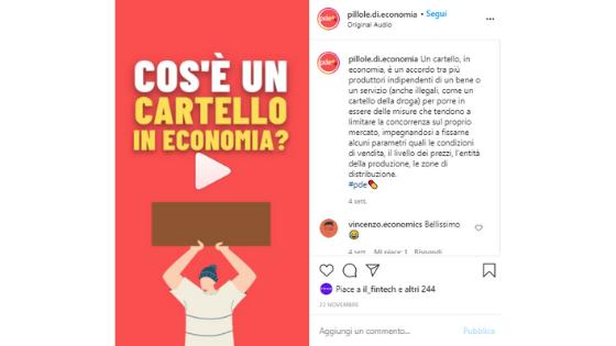Sei progetti di giornalismo da seguire su Instagram - pillole di Economia